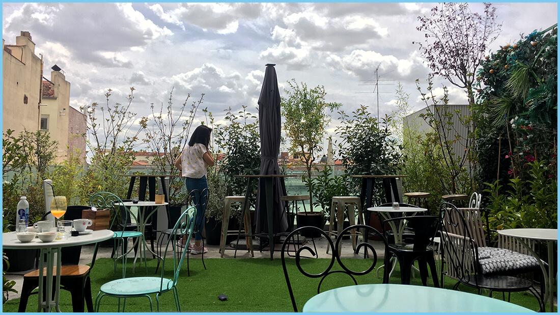 Azotea Forus Barceló La Terraza Del Mercado Barceló