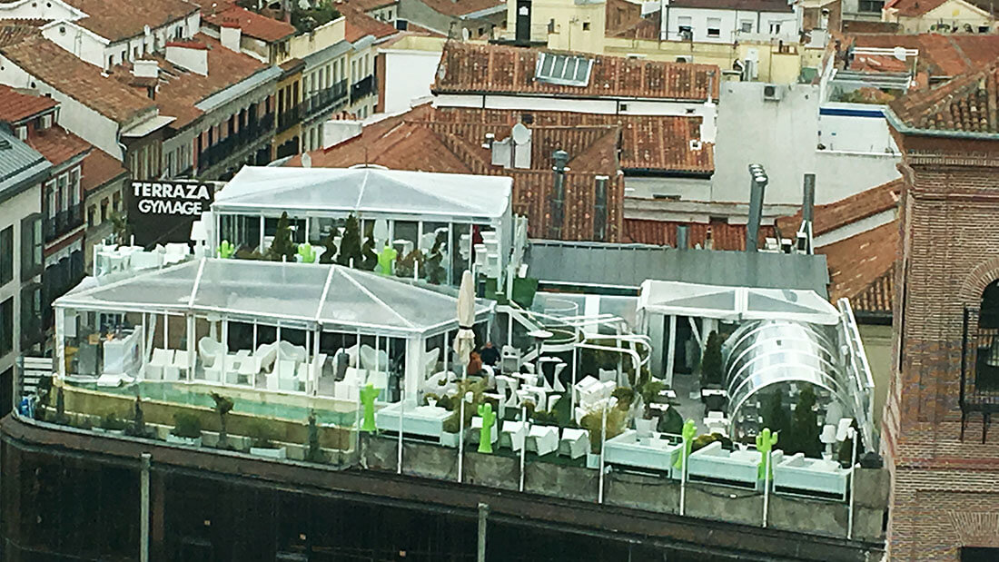 Azotea Gymage Lounge Resort Un Oasis En Malasaña