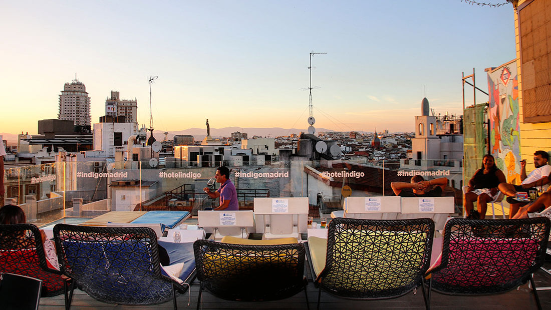 AZOTEA HOTEL INDIGO MADRID 3