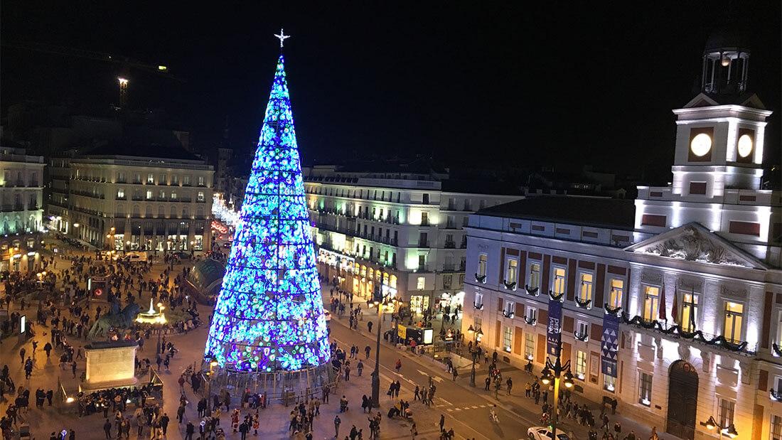 7 Azoteas Para Disfrutar Las Luces De Navidad De Madrid