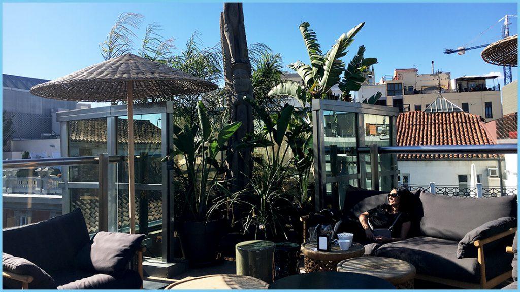 La terraza del Urban 3
