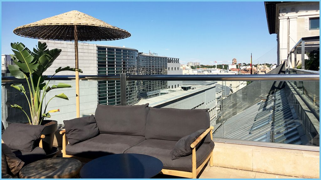 La terraza del Urban 4