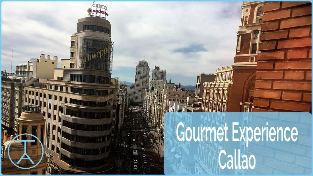 Cabecera Gourmet Experience Callao