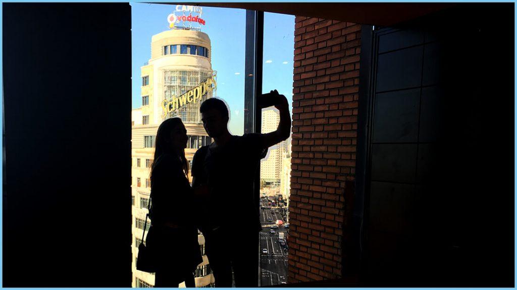 Selfie en Gourmet Experience Gran Vía