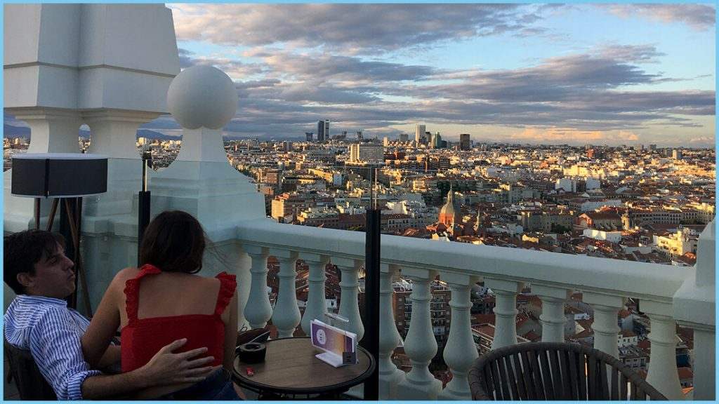 360 ROOFTOP. RIU GRAN VIA VISTAS 7