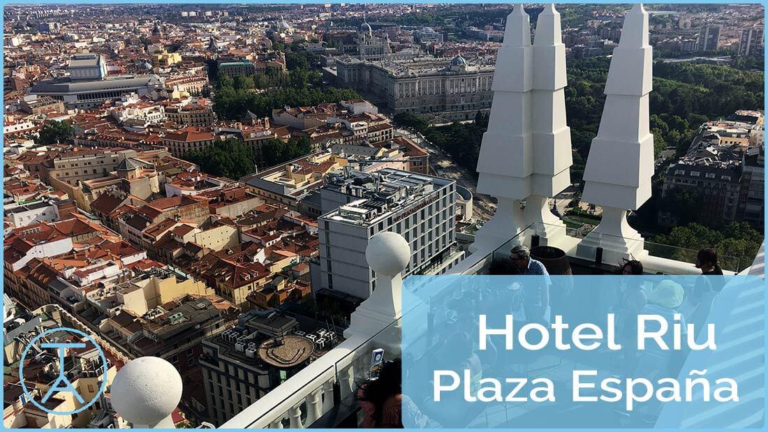 La Azotea Del Hotel Riu Plaza España 360º Sky Bar El